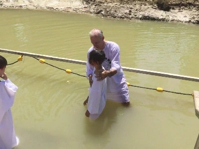 Baptism2 in river Jordan